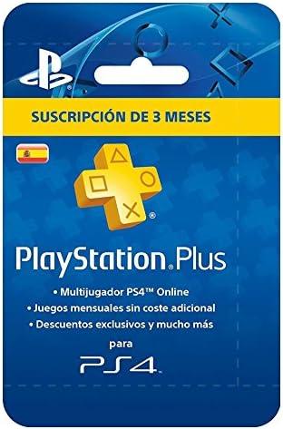 Sony - PSN Plus Tarjeta 90 Días - Reedición (Playstation 4): Sony: Amazon.es: Videojuegos