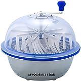 The Clean Cut M-9000S Series Bowl Leaf Trimmer M-9000SBU 19-inch Hydroponic Spin Cut Bud Flower Leaf Bowl Trimmer