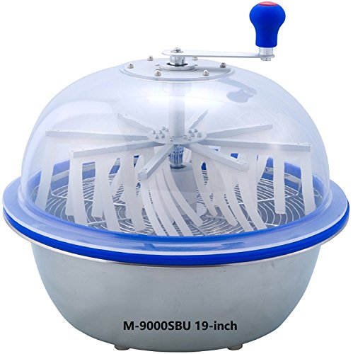Buy Discount The Clean Cut M-9000S Series Bowl Leaf Trimmer M-9000SBU 19-inch Hydroponic Spin Cut Bu...