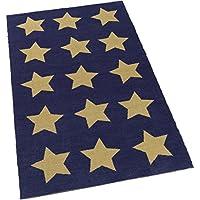 KidKraft Muli-Star Rug, Blue, 3 x 5