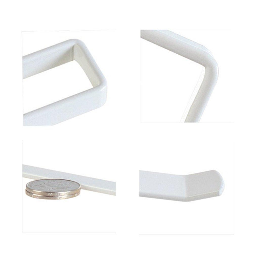 Lot de 2 Support Papier Porte Essuie-Tout D/émontable Sous /Étag/ère Placard Cuisine Rangement