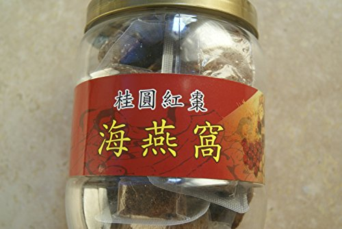 Agar-added Longang, Red Date, Coral Grass blended beverage - Tea, served hot, wram, cold or make jelly (500 g) Grass Coral