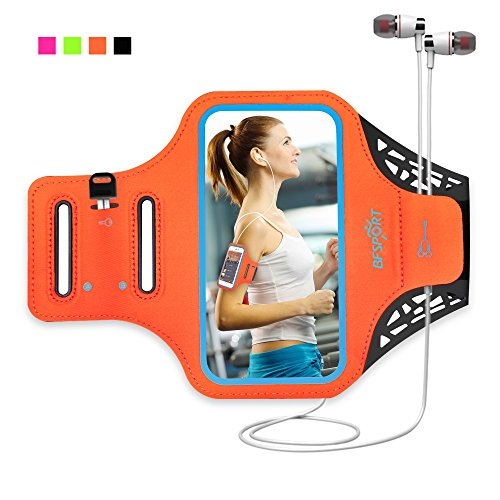 rmband, Water Resistant Armband for 4.7inch Phone Case (4 colors) for iPhone6,6s,GalaxyS3/S4,iPhone5s/5c/5 with Touch Screen& Key Holder & Reflective Band & Earphone Cord ()