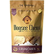 Dogsee Chew Crunchies - Puppy Treats & Dog Dental Chews - Yak Cheese Flavored Himalayan Dog Chew for Puppies & Small Dogs - Grain-Free Dog Treats to Rid Plaque and Tartar - 2.5 oz Per Bag