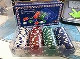 CHH Poker Casino Dice Style Chips Set (100 Piece), 11.5 gm