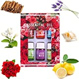 6Pcs Essential Oils for Teen Girls Women, Clearance Sale! Iuhan 6Flavor 3ML/Box Pure Aromatherapy Essential Oil Skin Care Bath Massage Beauty (A)