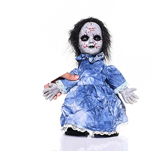 Halloween Decoration Animated Zombie Doll with Sound (B) (Spirit Halloween Light And Sound Control)