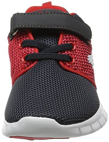 LonsdaleSivas - Zapatillas de running Unisex, para niños, color gris, talla 10 UK 28 EU