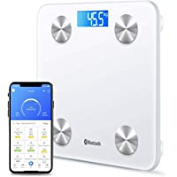 Bluetooth Body Fat Scale Digital Bathroom Scales iOS Android app Wireless Body Composition Monitor for Body Weight Body…