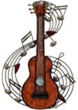 Deco 79 Metal Music Wall Plaque, 22 by 15""