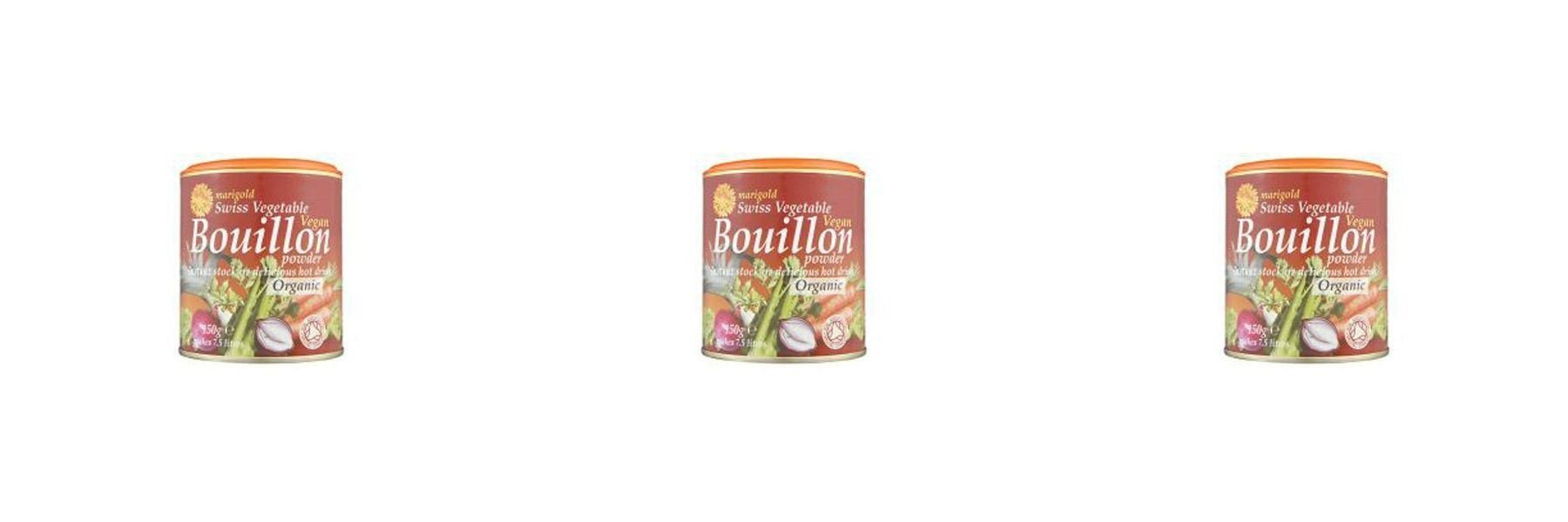 (3 PACK) - Marigold Swiss Vegetable Bouillon - Organic & Vegan| 150 g |3 PACK - SUPER SAVER - SAVE MONEY