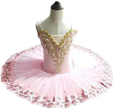 Vestido de Ballet para niñas Falda de tutú de Flores para niños ...