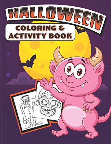 Halloween Coloring & Activity Book -