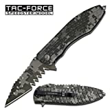 Tac Force TF-729DG Tactical Assisted Opening Folding Knife 5-Inch Closed For Sale