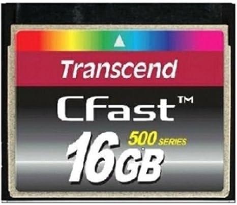 CompactFlash Cards Computers & Accessories Transcend 16GB Cfast ...