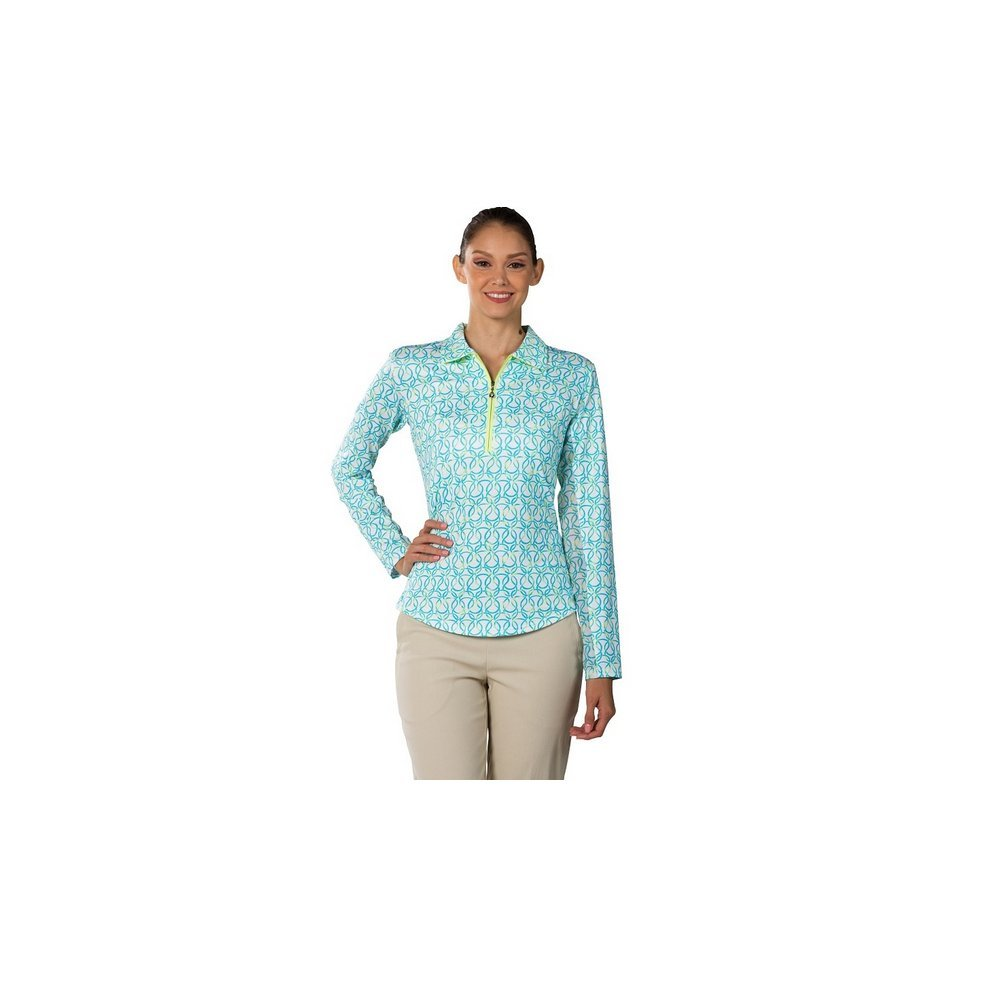 San Soleil SHIRT レディース B075WZ21S5 XL Looped Turquoise Looped Turquoise XL