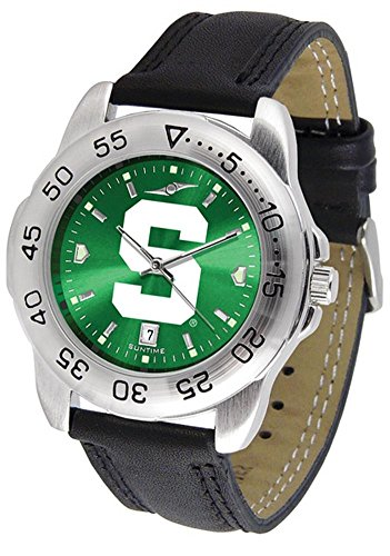 Linkswalker Mens Michigan State Spartans Sport Anochrome Watch ()