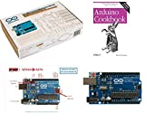 Cookbook For Arduino Starter Kit - Deluxe Bundle Includes Official Arduino.cc Starter Kit (with Arduino Uno R3 Board), Arduino Cookbook (2nd Edition) and SPEED-KITS PIN-OUT Chart for Arduino Uno R3