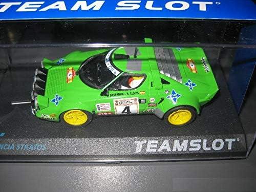 Fly SCALEXTRIC Lancia Stratos Rallye DE ESPAÑA 79 DE Team Slot: Amazon.es: Juguetes y juegos