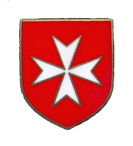Amazon Christian Army Crusader Knights Order White Maltese