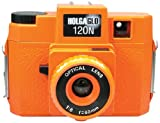 Holga 312120 Holga HOLGAGLO 120N Glow In The Dark Cameras (Aura Orange)