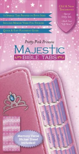 Princess Bible Tabs (Majestic™ - Tab Bible Book