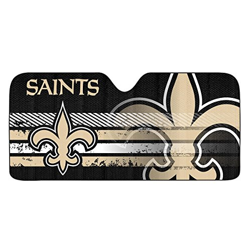 NFL New Orleans Saints Universal Auto Shade, - Outlet Orleans New