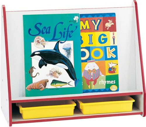 Rainbow Accents 3503JCWW119 Big Book Pick-A-Book Stand, Mobile, Green