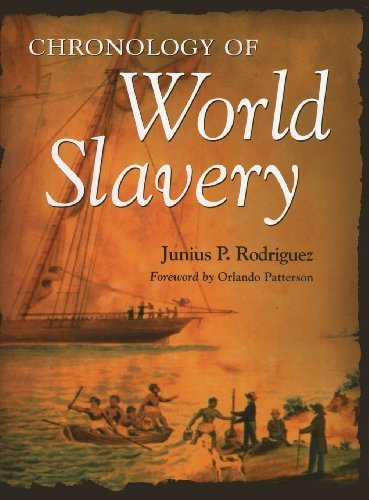 Books : Chronology of World Slavery by Junius P. Rodriguez (1999-06-15)