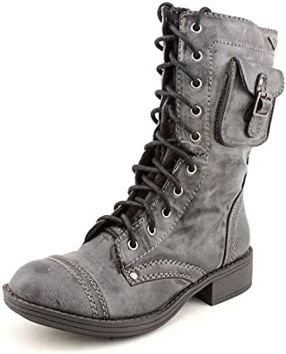 Roxy Seattle Combat Ankle Boot