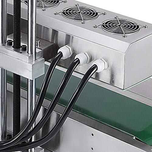 Sumeve Continuous Induction Sealer Automatic Induction Bottle Sealing Machine Bottle Cap Sealer For Cap Diameter 20mm - 80mm 110V 220V (110V) by Sumeve (Image #4)