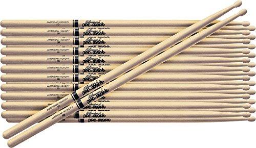 PROMARK 12-Pair American Hickory Drumsticks Nylon 7A