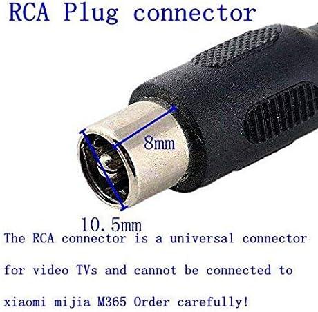 TangsFire Chargeur de Batterie pour vélo 36V, Chargeur 42V 2A pour connecteur RCA pour vélo électrique