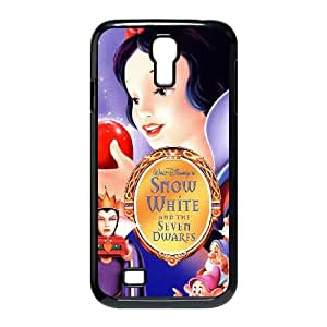 Samsung Galaxy S4 9500 Cell Phone Case Covers Black Snow White and the Seven Dwarfs JU0974859