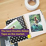 """ATack Double-Sided Tape White, 2"""" x 30 Yards, Heavy"""