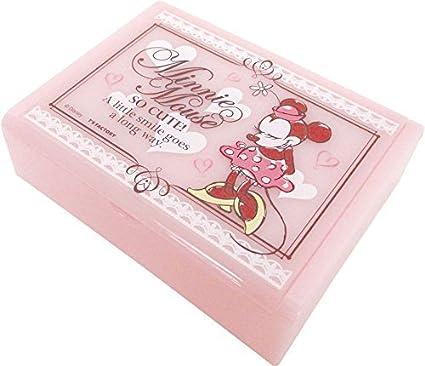 Amazon.com: Caja de joyería de Disney Minnie Mouse rosa ...