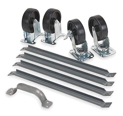 Steel, Caster Set