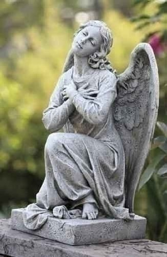 (Roman Kneeling Angel Garden Figures [DS 64151])