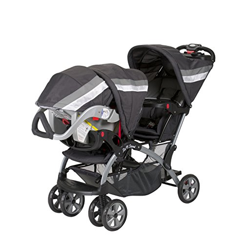 tandem baby trend sit and stand double stroller liberty 90014015602 ebay. Black Bedroom Furniture Sets. Home Design Ideas