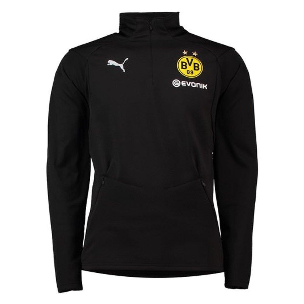 Puma 2018-2019 Borussia Dortmund Training Fleece (schwarz)