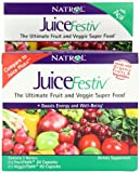 Natrol JuiceFestiv Dietary Supplement, 60 Count FruitFestiv, plus 60 Count VeggieFestiv Capsules, Health Care Stuffs