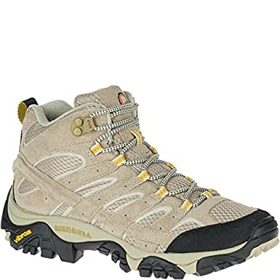 Merrell Women's Moab 2 Vent Mid, Taupe, 5 M