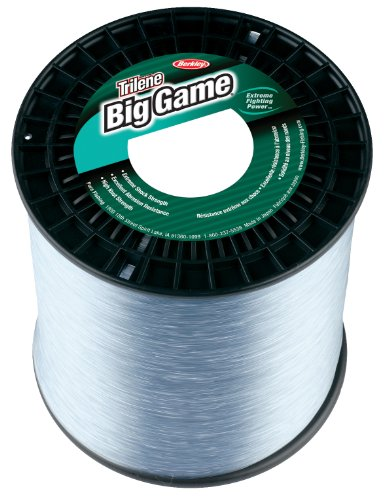 Berkley Trilene Big Game Monofilament 1-Pound Spool(40-Pound,Clear), Outdoor Stuffs