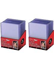 Ultra Pro Clear Regular Toploader kaarthoezen, 7,62 x 10,16 cm, 25 stuks per verpakking (2 verpakkingen)