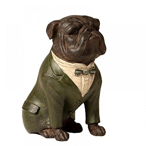 Escultura Decorativa de Resina Cachorro Rick