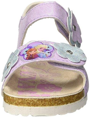 Disney Mädchen S19474/Az Peeptoe Sandalen Rosa (Lilla)