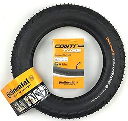Continental Fahrrad Schlauch Compact 10//11//12 //// 10-12,5x1.75-2 1//4/´/´
