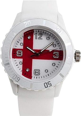 wwzEITpV Bandera Nacional Reloj de Pulsera de Reloj Ocasional de la Mujer del Hombre con la batería (Inglaterra) Bandera Reloj de Pulsera, Personalidad Reloj de Pulsera, Reloj del Deporte,: Amazon.es: Relojes