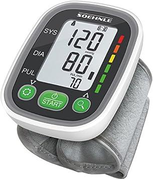 SOEHNLE Systo Monitor 100 - Tensiometro de muneca, ritmo cardiaco ...