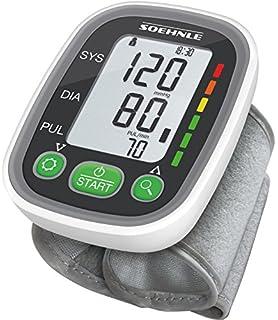 SOEHNLE Systo Monitor 100 - Tensiometro de muneca, ritmo cardiaco, presion arterial, sensor